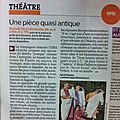 Theatrum quansi anticum, dans la gazette de nimes