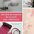 Les <b>fleurs</b> Cereza en couverture d'un livre avec Gazouillis & Cie & les Entrepreneuses Créatives
