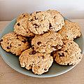 Cookies aux <b>flocons</b> d'avoine