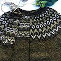 Tricoter un lopapeysa... comment transformer un pull en cardigan ?