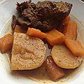 Boeuf, batata, carottes