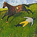 Degas, Jockey blessé