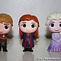 Funko Mystery Mini La <b>Reine</b> des <b>Neige</b> 2 : Kristoff, Anna et Elsa