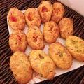 Variante madeleine au jambon