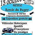 4ème Ronde Historique du Bugey 2013