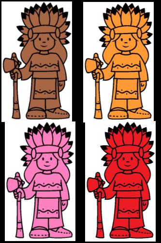 indiens en couleur2