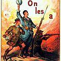 L'affiche pendant la Grande Guerre