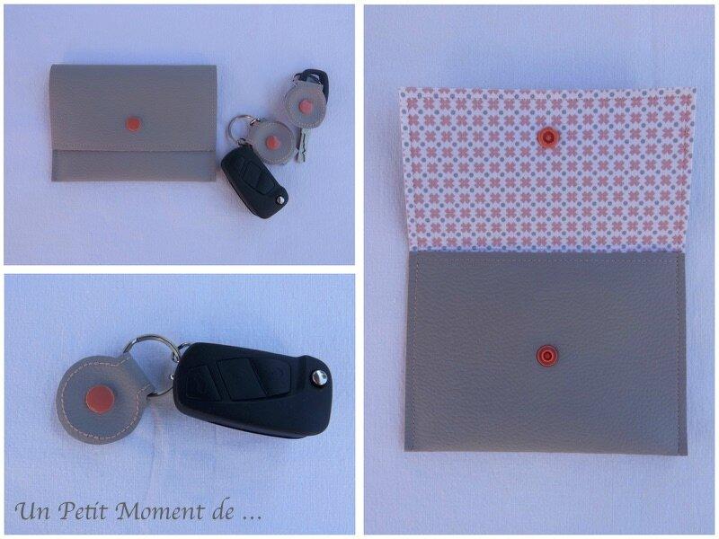 Pochette pour carte grise 2