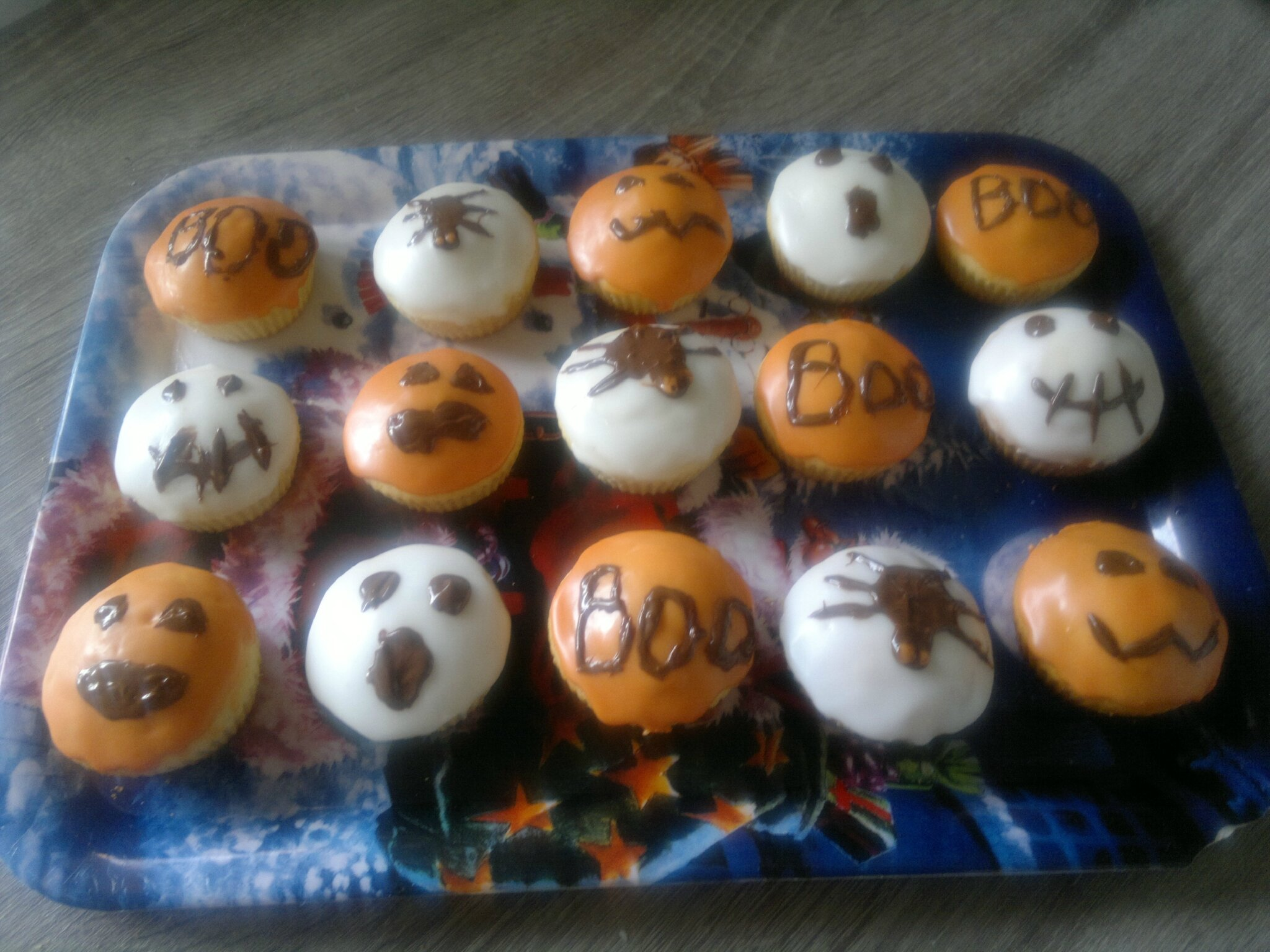 Muffins pour halloween