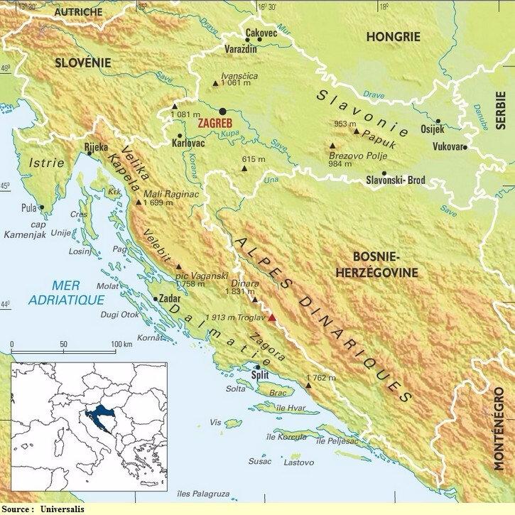 croatie-carte-relief-altitude