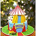 Gâteau cirque pour tristan