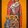 Marie reine de l'ordre franciscain