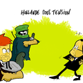 Hollande, entre aqmi et le medef, les menaces du lundi