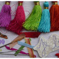 Les points de la <b>broderie</b> <b>ruban</b>