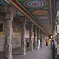 Inde du Sud (15/31). Le temple de Minaskshi à Madurai.
