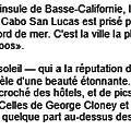 CABO SAN LUCAS HISTOIRE