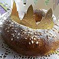 Tour en cuisine # 210 : galette briochée au mascarpone