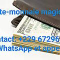 GRAND MAITRE MARABOUT SPECIALISTE DES PORTEFEUILLE MAGIQUE, VALISE MAGIQUE