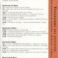 Carnaval 2014 le programme