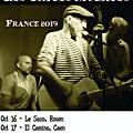 Grae J. Wall & Los Chicos Muertos en tournée en Normandie et dans le sud Manche - du 16 au 19 octobre 2019