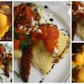 Raviolis tomates sechés mozzarella