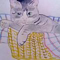 CATS - achetez ces peinture sur http://lodya.artgallery.free.fr