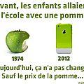 humour apple ecoleour1