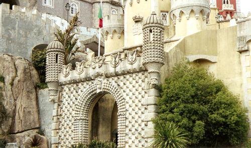 Sintra-entrée du palais de la Pena