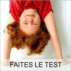 """Test """" indicatif"""" enfants / adulte"""