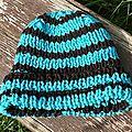 Bonnet adulte bicolore