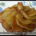 Pommes fondantes vanillee/speculoos