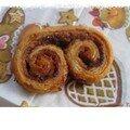 Palmiers sucre cassonnade/canelle