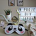 Un masque de sommeil <b>kawaï</b> #projet diy 18