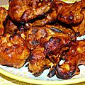 Spicy coliflower wings