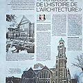 La grand allée, «microcosme de l'histoire de l'architecture»