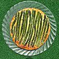 Tarte sans pâte aux asperges