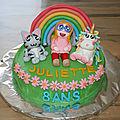 Gâteau Cha