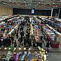 Grand <b>marché</b> au <b>tissu</b> à Strasbourg