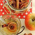 Fleurs de fruits et épices pour parfumer thé, tisanes ou vin chaud
