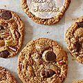 Cookies aux pépites de chocolat & noix de pécan
