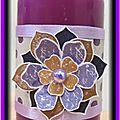 Bougie (violette)
