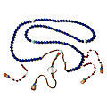 Chinese Mandarin Court Necklace with Lapis Lazuli, China, late Qing Dynasty (1644-1912)