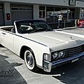 Lincoln continental convertible sedan-1965