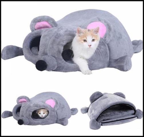 bonheur du chat niche souris 1