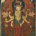 Avalokiteshvara, Tibet, ca <b>18e</b> <b>siècle</b>
