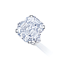 A 22.69 carats d colour vvs2 clarity type iia diamond ring