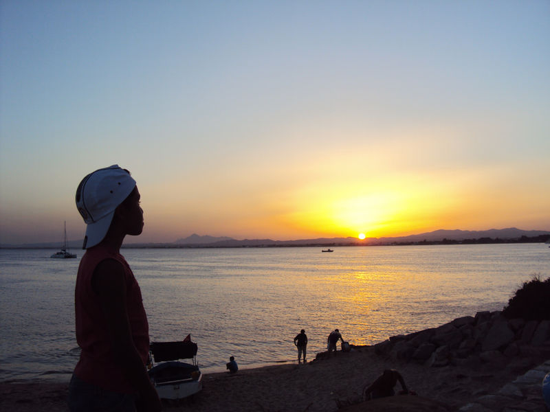 Le coucher de soleil du samedi 28 août 2010