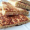Batbout / matlou3 / pain à la poêle à la farine complète