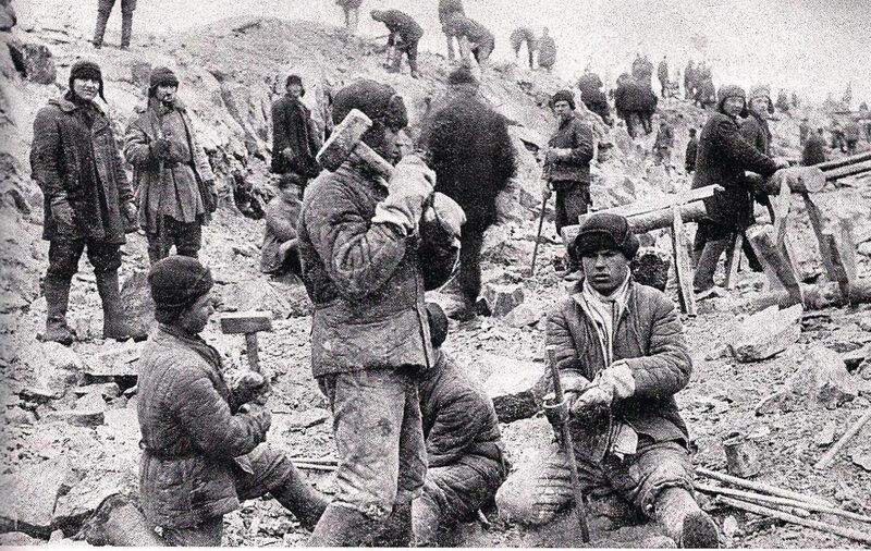 photo système répressif URSS - goulag