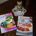 Salades et tartes